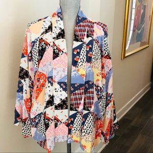 Gap patchwork kimono L/XL NWTS